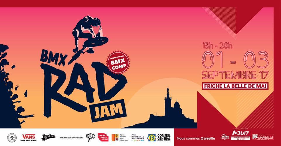 BMX Rad Jam compétition et concert