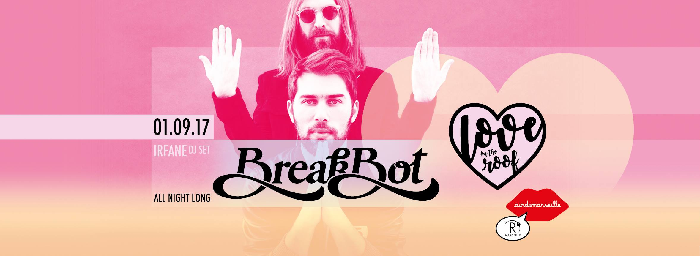 Breakbot All Night Long x Love On The Roof