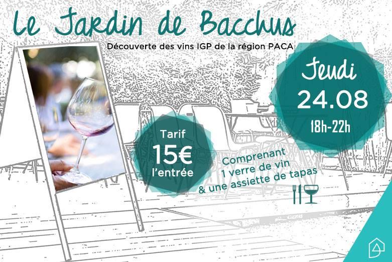 Le Jardin de Bacchus | Soirée autour du vin