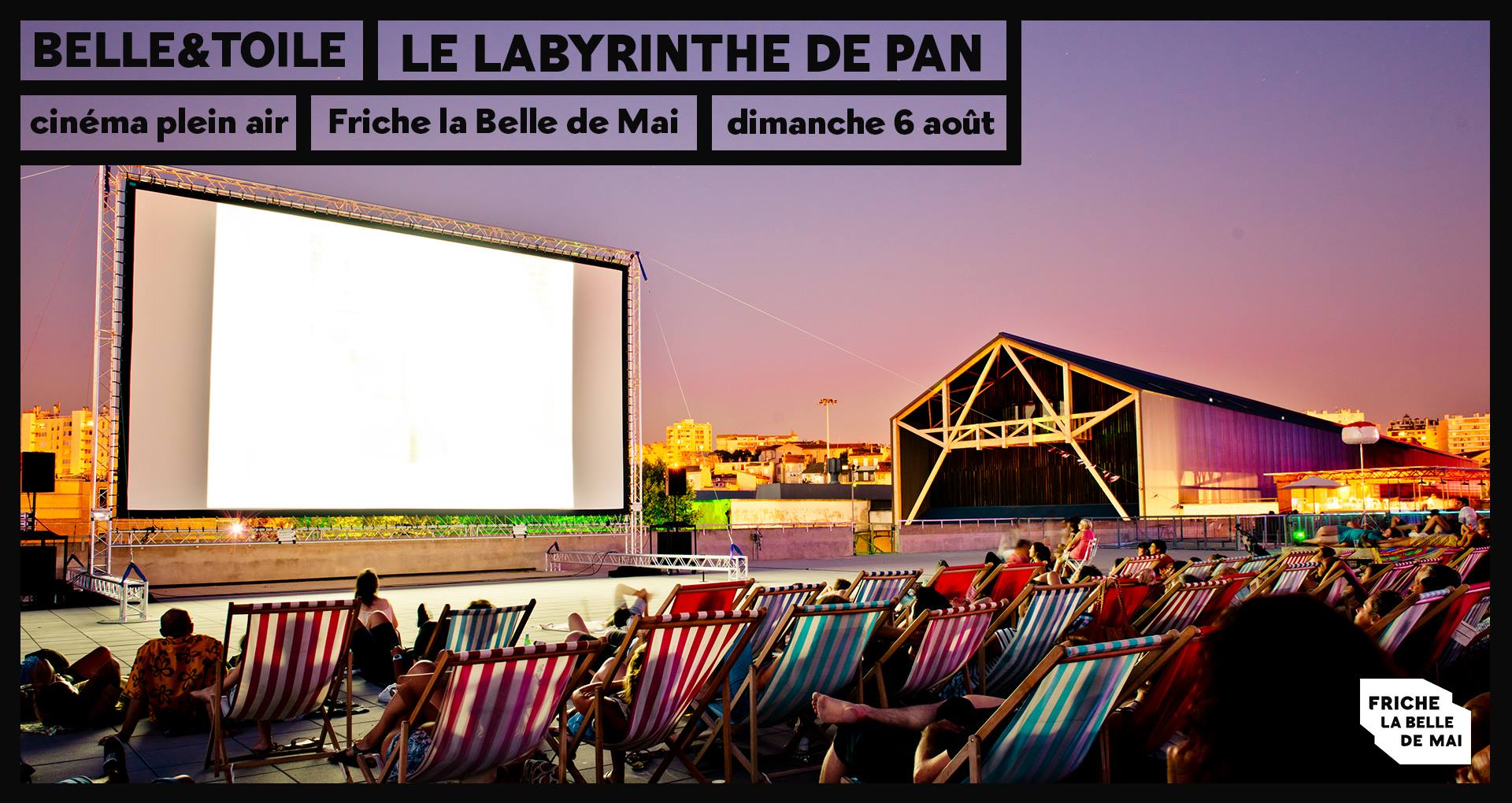 belle &toile cinema plein air friche belle de mai