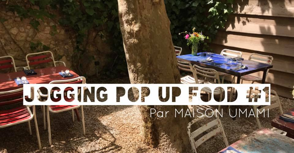 jogging pop up food repas vegetal marseille