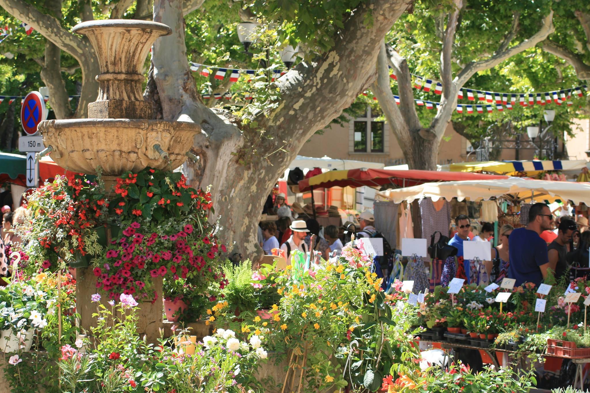 marché provençal cassis vendredi