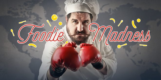 Foodie Madness Worldwide… Fière de représenter la France