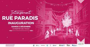 Inauguration de la rue Paradis