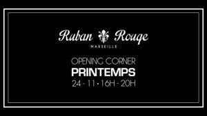 Opening Corner Printemps Ruban Rouge