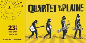 Quartet de la Plaine en concert - Guinguette Live