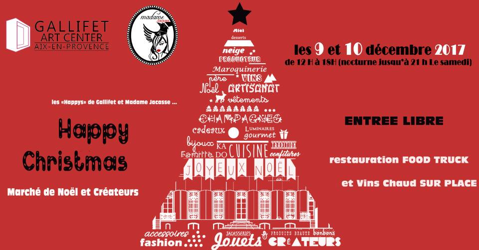 Marche noel aix happy christmas