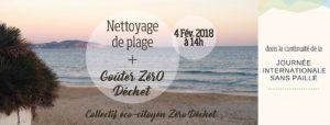 Nettoyage de plage + Goûter ZérO Déchet - Bas les pailles !