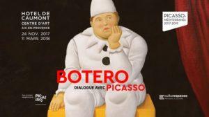 expo botero dialogue avec picasso aix en provence