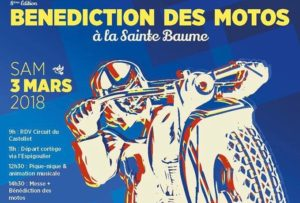 Benediction des motos a la saint baume