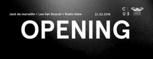 Opening Club Cabaret - Radio Slave + Lee Van Dowski