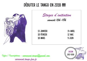 Stage d'initiation au TANGO