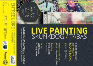 rotary live painting marseille