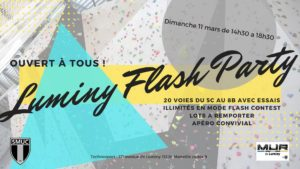Luminy Flash Party