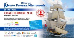 L'Hermione - Escale à Toulon