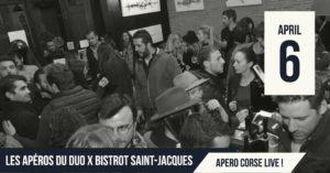Les Aperos Du Duo X Le Bistrot St Jacques : Apero Corse Live !