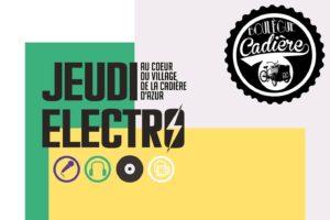 jeudi electro la cadière d'Azur (1)