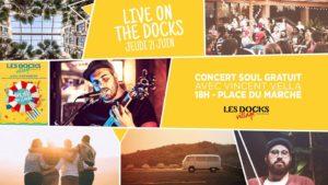 Live On The Docks - Vincent Vella en concert
