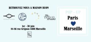 Pop Up Paris Love Marseille.