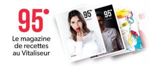 magazine recette 95 degre