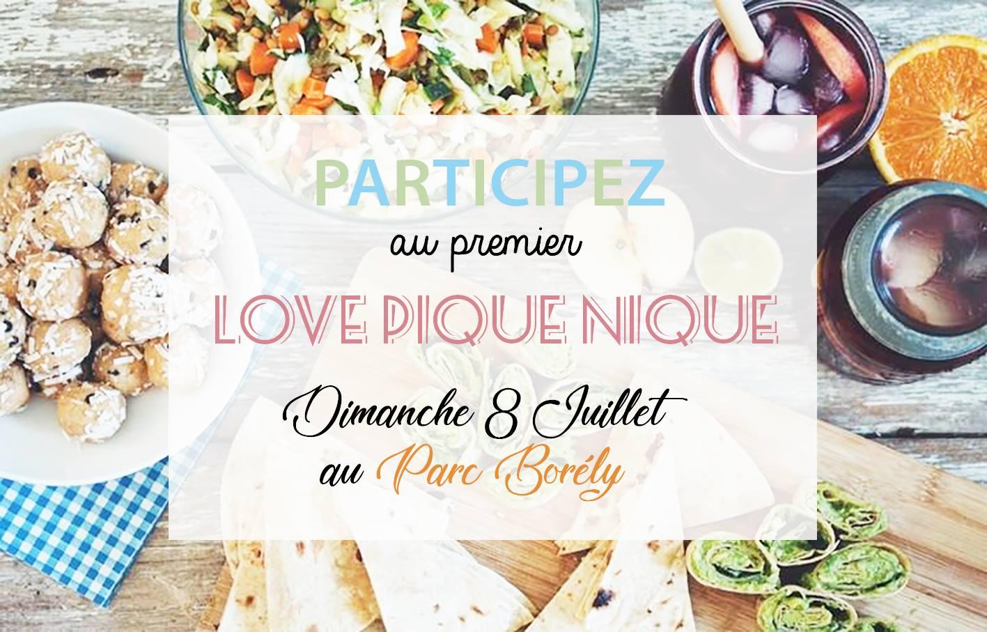 Le Love Pique-Nique : Gourmandises & Amour à partager