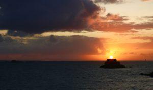 coucher de soleil Saint Malo