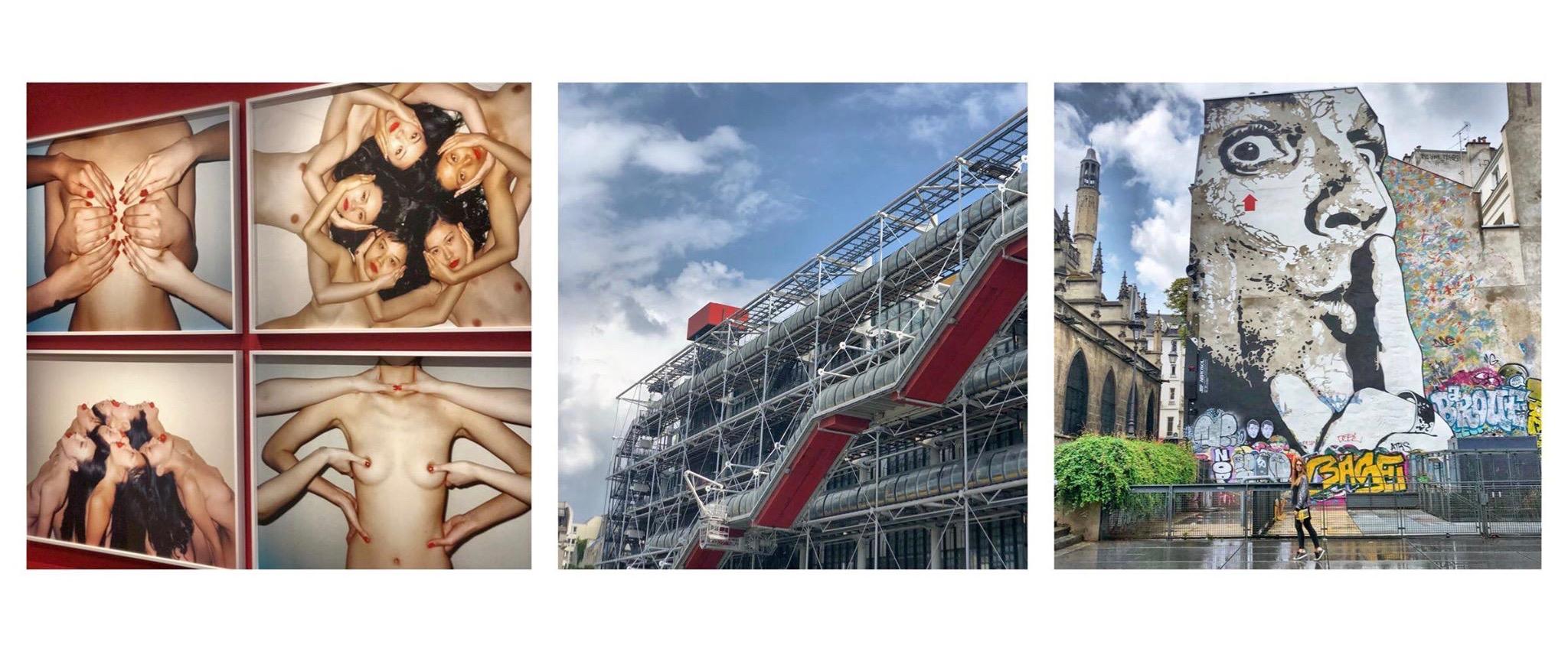 journée paris expo musée street art restaurant