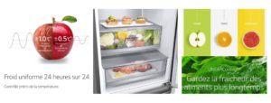 frigo LG connecté