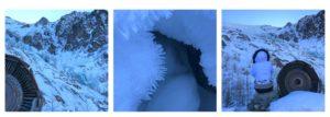 glacier chamonix ski