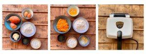 recette gaufre salée de papate douce