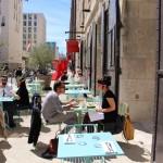 terrasse be o restaurants les docks marseille