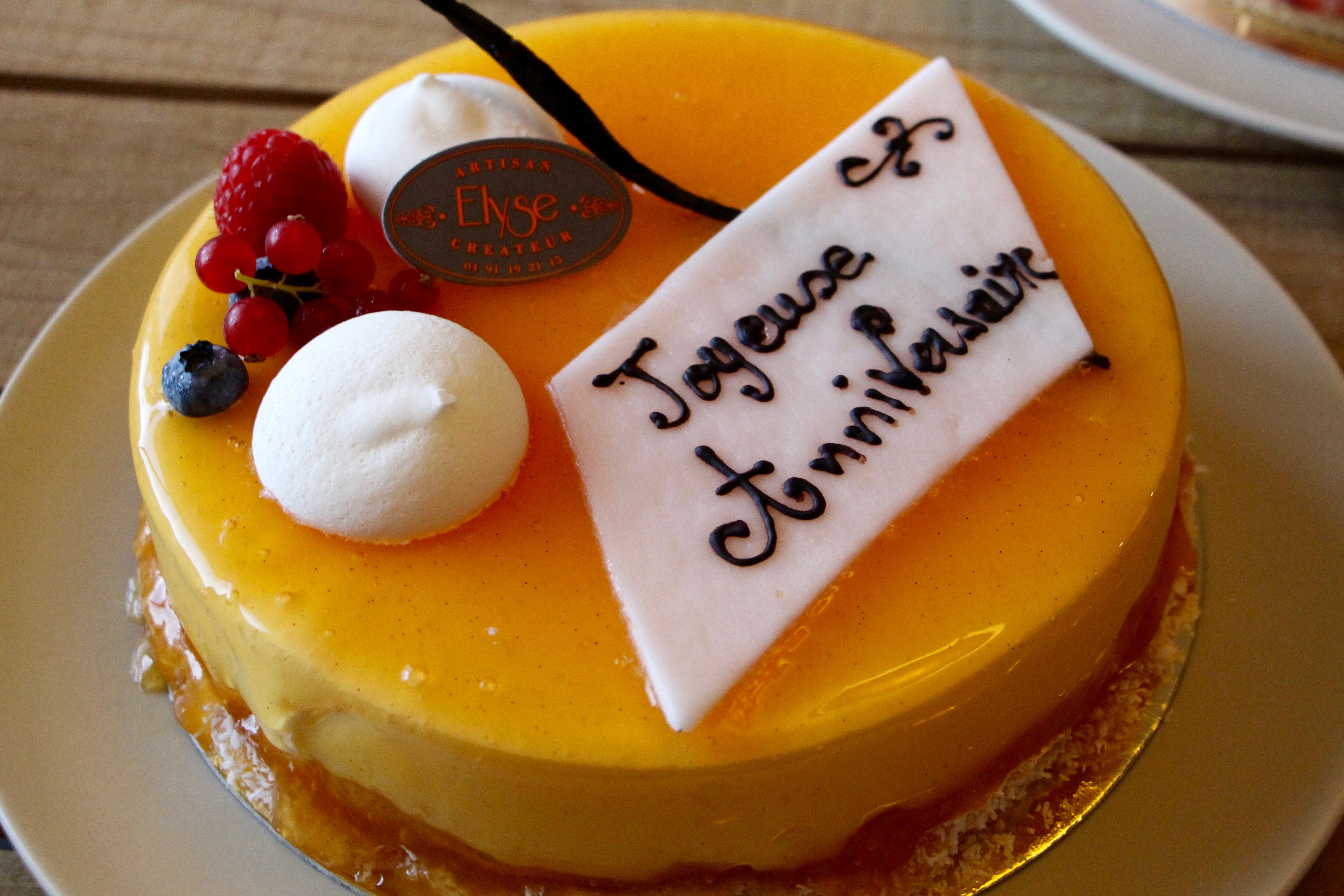 Gateau anniversaire original marseille