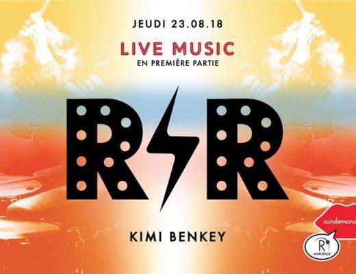 R2 Rooftop : R'n'R Circus x Kimi Benkey :
